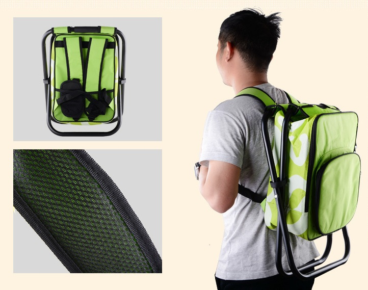 Portable Lightweight Foldable Fishing Chair Backpack Chair