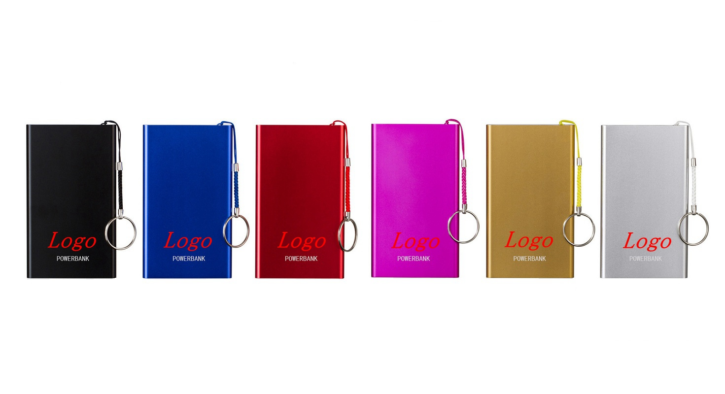 Mini Portable Charger Case Power Bank 4000mAh With Key Ring