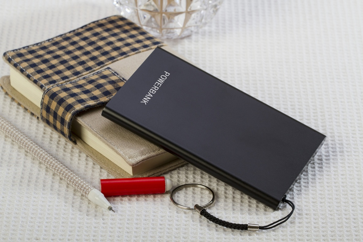 Mini Portable Charger Case Power Bank 3000mAh With Key Ring