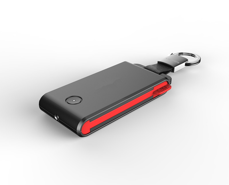 Portable Mini Charger 1500mAh Power Bank With Key Ring