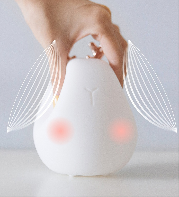 Animal Shaped Portable Rechargeable Kids Sleeping Lamp