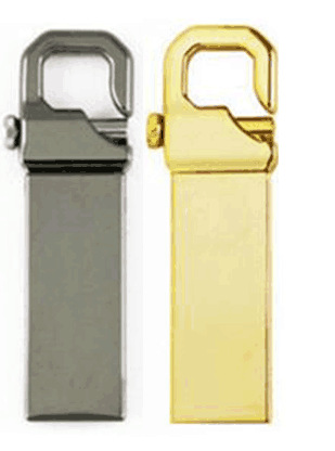Portable USB Flash Drive 2.0 Metal Memory Stick 16G