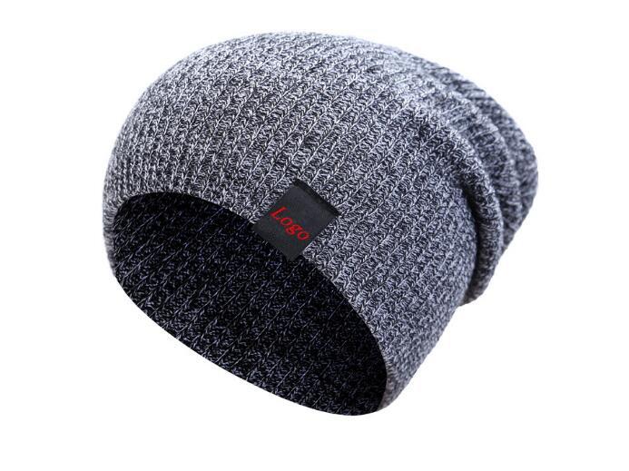 Winter Hats Knit Slouchy Beanie Warm Hat Baggy Skull Cap